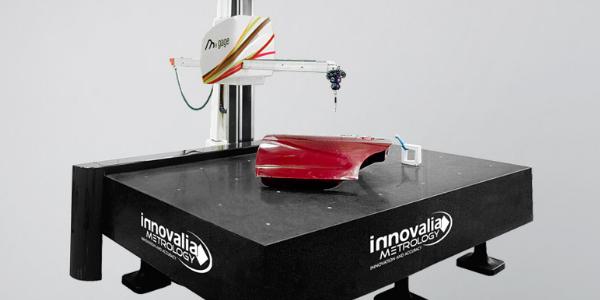 Horizontal arm CNC measuring machine